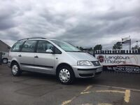 Volkswagen Sharan S Tdi 115 Automatic years mot 7 seats 3month warranty included