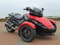 2011 11 CAN-AM SPYDER RS 993 SEMI AUTO