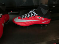 Missing Soccer Cleat - Red Nike Superfly, TIBS 01