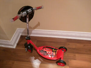 Cars 3-Wheel Scooter