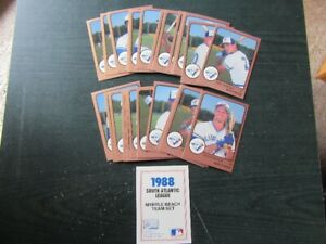 BASEBALL CARDS - PRO CARDS - Blue Jays -  REDUCED!!!!