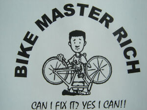 CALL ANYTIME BICYCLE REPAIRS FREE ESTIMATES & NO WAITING TIME!