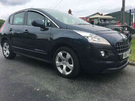 63 PEUGEOT 3008 ACTIVE 1.6 HDI MPV 54000 MILES 2 OWNERS NO DEPOSIT FINANCE