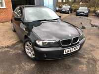 2002 BMW 3 Series 2.0 318i SE 4dr