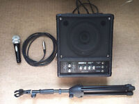 Acoustic Solutions Stage Gitar Amplifier Pack JE-75 Mic & Mic Stand Set