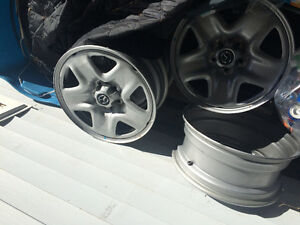 17 inch steel wheels