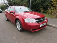 2008 DODGE AVENGER 2.0 CRD SXT MANUAL DIESEL 4 DOOR SALOON 5 SEATS
