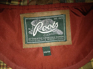 NEW Roots Hooded Jacket XXS woman or girl large no tags