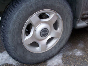 Ford explorer Limited edition wheels and tires(Reduced!)