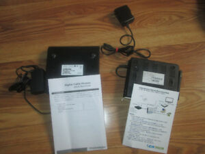 CIK SVG6000RW voip router and Thomson DCM476 Cable Modem