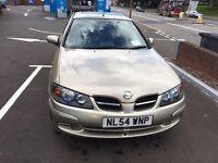54 plate Nissan Almere , low mileage , 5 door hatchback