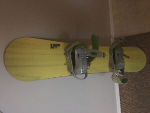 Nitro snowboard with boots and bindings