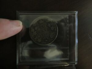 1872 H 50 cent coin