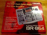 Boss BR-864 Digital Recording Studio