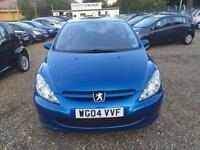 2004 Peugeot 307 1.6 HDi S 3dr