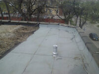 12 years experince in flat top roofing