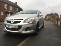 Corsa vxr rare silver colour low miles