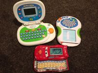 2 Leapfrog computers and vtech game