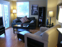 Fully furnished three bedroom available immediately