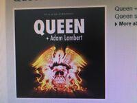 Queen & Adam Lambert Tickets Manchester 9th Dec 2017