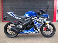 MOTORINI MT125 RRi BRAND NEW SPORTS BIKE 2 YEAR WARRANTY AUTHORISED DEALER