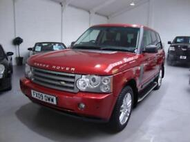 Land Rover Range Rover 3.6TD V8 HSE Auto, 2009, 92k FSH, Red Met, Black Leather