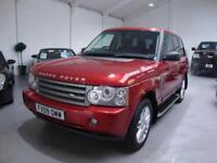 Land Rover Range Rover 3.6TD V8 HSE Auto, 2009, 92k FSH, Red Met, Black Leather