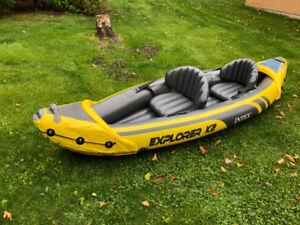 Inflatable Kayak - Explorer K2