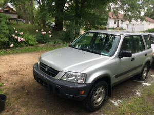 1997 Honda Crv. Very clean 4x4, cheap and reliable. $3000.00 obo