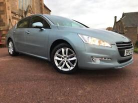 *12 MTHS WARRANTY*2012(12)PEUGEOT 508 1.6 FAB HDI ACTIVE FAB WITH 41K FSH*