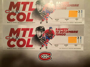 Montreal Canadian Red Tickets Billets Rouge