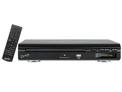Supersonic SC-28DVD 2.0 Channel DVD Player +All Region-Free Multi-Zone NTSC/PAL