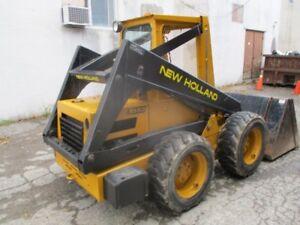 New Holland loader