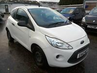 2012 Ford Ka 1.2 Studio S/S in White Only 29K FSH Aircon Aux Low Ins £30 RFL