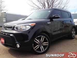 2016 Kia Soul SX Luxury  LTHR/PANOROOF/NAVI/CAMERA/LANE