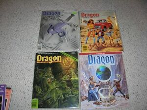 Vintage Dragon Magazines collection Sarnia Sarnia Area image 3