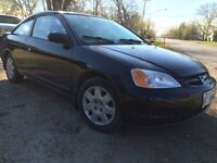 Safetied!! 2002 Honda Civic LX 2dr Coupe 5 Speed Manual