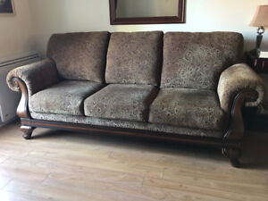 """URGENT"" - Sofa/Chair Set with Matching Rocking Recliner Chair"