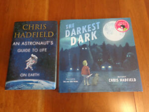 Chris Hadfield Books:    Includes Autographed Book!