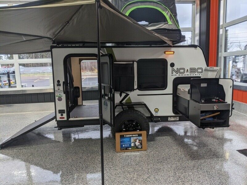 2020 No Boundaries Travel Trailer Nb10 6 Travel Trailers