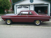 1966 Ford Fairlane ( Pre Saftey Done) Selling Saftied !!!
