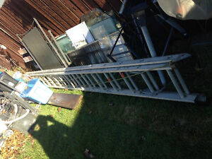 16 FT EXTENDS TO 30 FT. LADDER