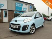 2014 Citroen C1 1.0i ( 68bhp ) Edition baby blue ONLY 25,000 MILES FROM NEW !!