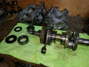 FIRECAT CRANK AND CASES  FOR EFI