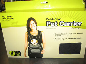 Pet Carrier (Pet-A-Roo) for medium size dogs up to 20lbs
