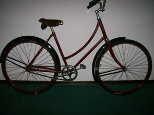 Vintage 1940's CCM womens bicycle, completely ready to ride