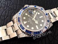 Rolex GMT Master II Diamond Swiss ETA