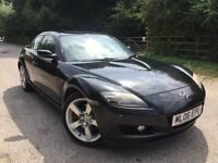 Mazda rx8 new engine rebuild+clutch invoice for £2400