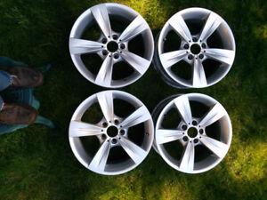 """Used 18"""" BMW wheels"""