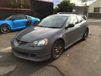 Honda integral Type R DC5 low miles wrapped nardo grey